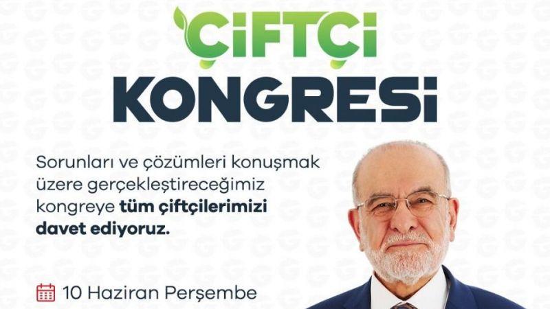 Temel Karamollaoğlu çiftçi kongresi